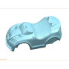 Blow molding plastic mould K