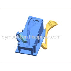 Blow molding plastic mould L
