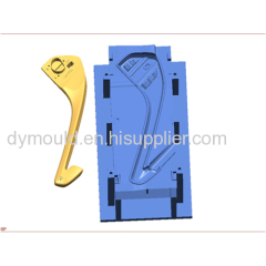 Blow molding plastic mould M