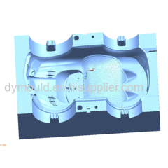 Blow molding plastic mould N