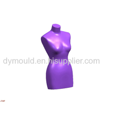Blow molding plastic mould Q