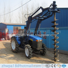 China supplier tractor auger drilling Hydraulic digging machin