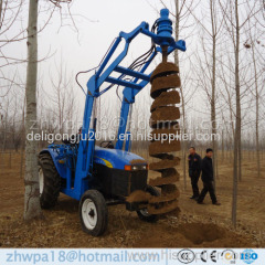 China supplier Professional Auger for tractor Post Hole Digger