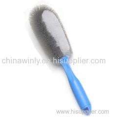 Double Bristle Wheel Car Brush