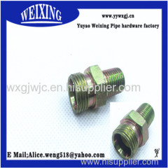 male thread reducing coupling hose fitting hydraulic fitting