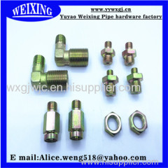 equal coupling reducing coupling equal elbow male eblow nipple hose fitting hydraulic fitting