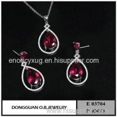 E3704 And P3073 18K Gold Jewelry Set