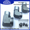 high quality male equal elbow hose hydraulic fitting 90 equal elbow fitting coupling