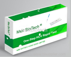 One Step HCV Rapid Test