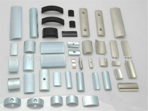 various kinds of arc segment magnet neodymium ndfeb