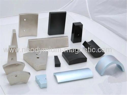 various shapes permanent magnet neodymium ndfeb