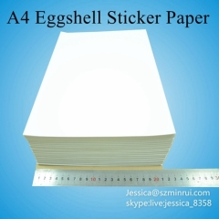 Factory Supply Moderate Fragile Face Security Destructible Tamper Evident Label Material In A4 Sheets