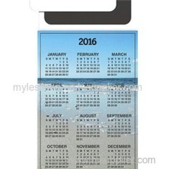 Magnetic Peel'n Stick Card - Calendar 6inch X 3.5inch Magnets