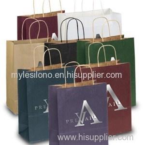 Dorothy Matte Shopping Bags Foil Hot Stamp