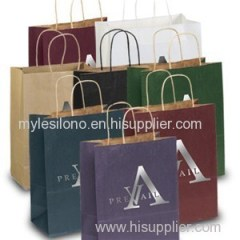 Dorothy Matte Shopping Bags Foil Hot Stamp