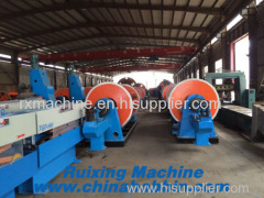 630/12+18+24 Frame Stranding machine for stranding sector conductor round conductor