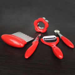 5 pieces set of Fruit model cutter