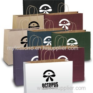 Judy Matte Shopper Paper Bags