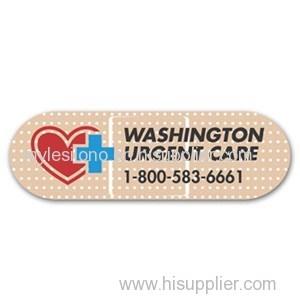 Custom Bandage 4in X 1.25in Magnets