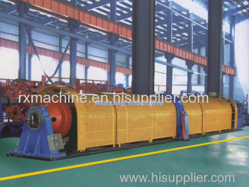 630 Tubular stranding machine for local system 7 core twisted strand copper wire copper