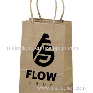 Promotional PUP Eco Shopping Paper Bags