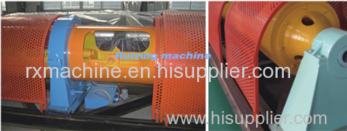 400/1+6 Tubular stranding machine for cables of small size