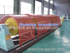 400 1 6 Tubular stranding machine high speed rotation