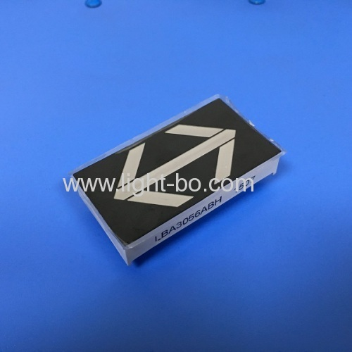 Ultra blue 1.8  Arrow Design LED Display for Elevator Direction Indicator size 30*56*11.2(mm)