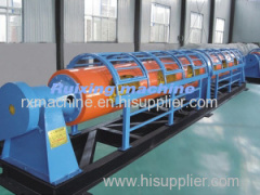Tubular stranding machine for copper strand aluminum strand ACSR as well as twisting