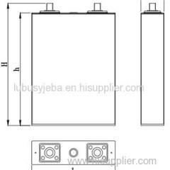 3.2V 60Ah LiFePO4 Battery For Solar Street Light