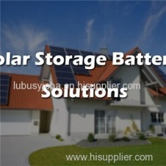 Solar Storage Battery Solutions