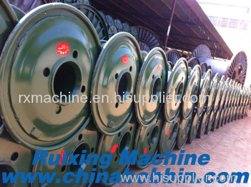 Double layer high speed cable bobbin cable reel drum spool for high speed twisting machine