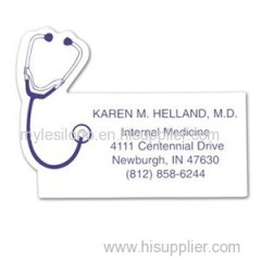 Stethoscope Mag-Tag 3.25in X 2.5in Magnets