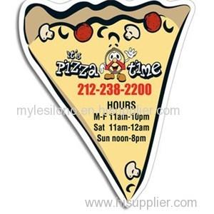 Pizza Slice 4in X 3.5in Magnets