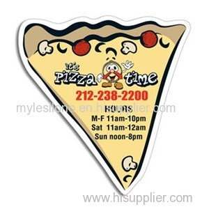 Large Pizza Slice 4in X 3.5in Magnets
