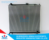 High performance aluminum auto radiator for PAJERO V80'06- MR404689/MR968285