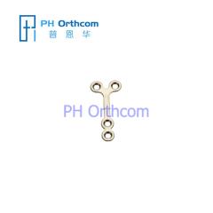 Micro Titanium Y-образный Пластина для черепно-челюстно-лицевой хирургии системы 1.5