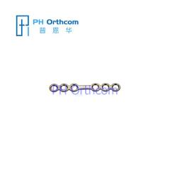 Titanium Micro Пластина для Черепно-челюстно-лицевой хирургии системы 1.5 Прямая пластина 6 отверстий с моста