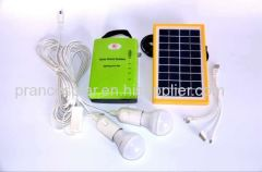 3w household solar power lighting system