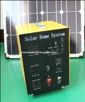 300w portable solar power lighting system