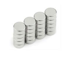 alta qualidade pequeno radial magnetizado N52 pinos ímãs de neodímio