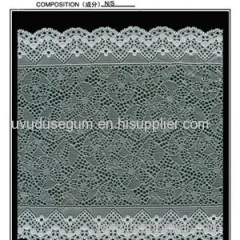 18 Cm Galloon Lace With Design Of Different Geometrical Combination (J0091)