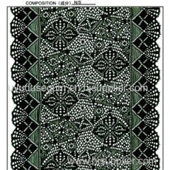 18 Cm Geometrical Galloon Lace (J0070)