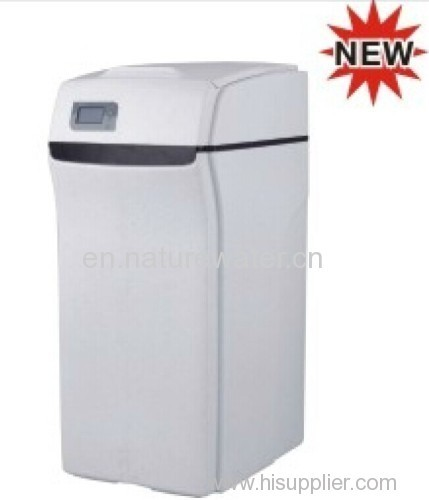 Cabinet Automatic water softener SOFT-A Flow capacity 4000Liters per Hour