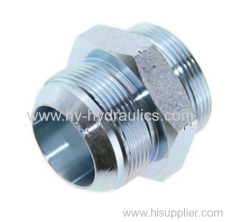 JIC male 74°/ SAE o-ring boss L-series ISO11926-3 hydraulics fittings 1JO
