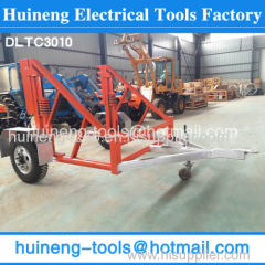 Hydraulic Cable Drum Trailers easy to operate for work