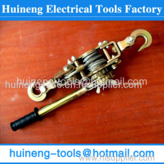 Manufacture Ratchet Tension Pulling Grip Cable Winch Puller