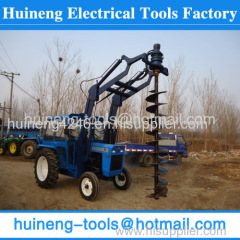 Big machine Pile Driving Equipment Tractor Mounted Stump Drill