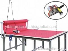 fabric end cutter cloth cutting machine