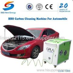 hho car engine carbon cleaning machine
